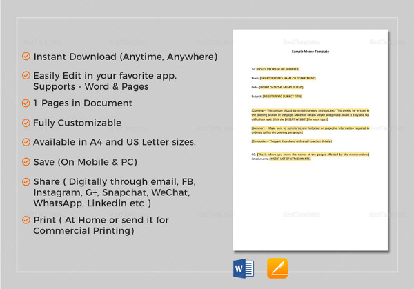 14 formal memo examples samples memo template altavistaventures Images