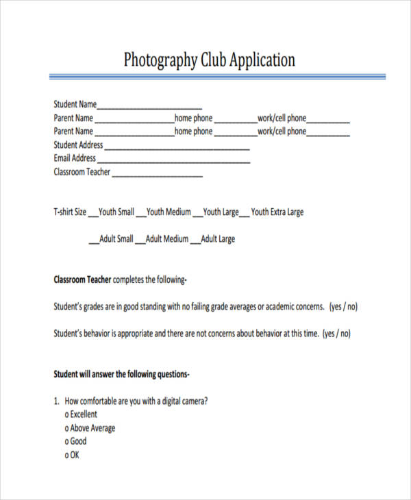 photography club