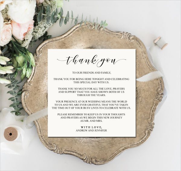 place card design