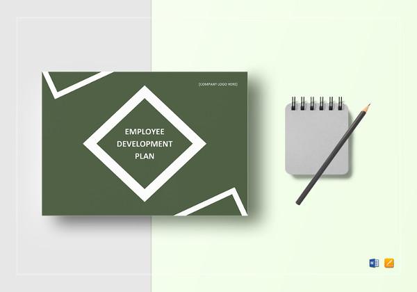 printable employee development plan template
