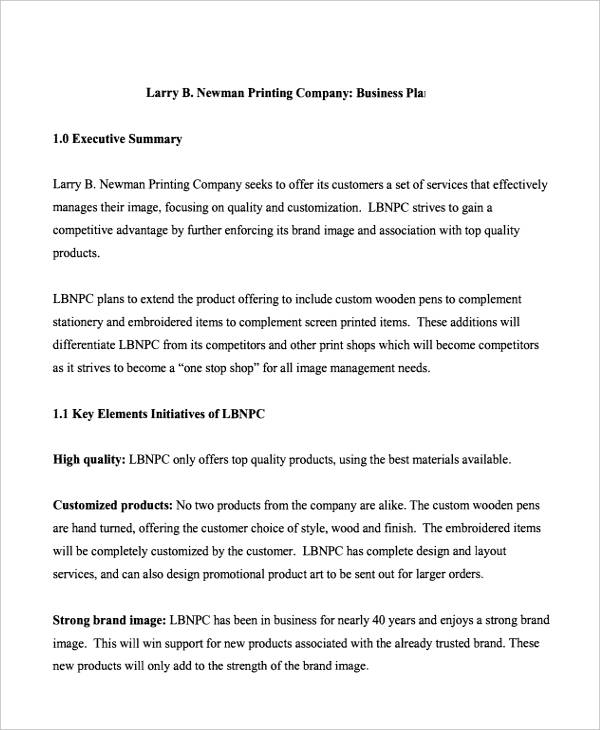 17+ Company Plan Examples, Samples - Word, Docs | Examples