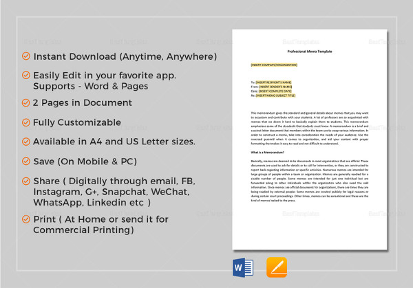 Professional-Memo-Template-in-Google-Docs Tax Research Memo Format Example on persuasive business letter block format example, business memo example, tax memo template,