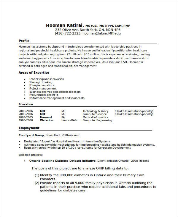 professional resume2