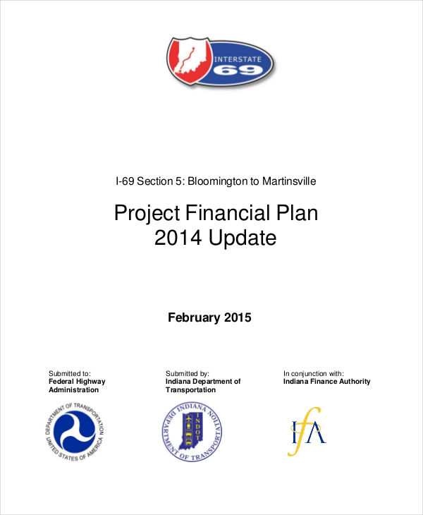 project financial plan