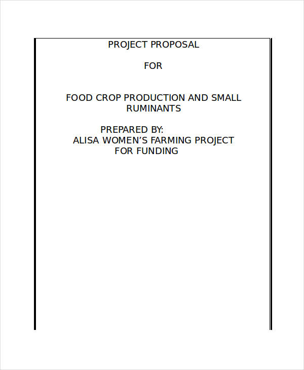 project proposal template1