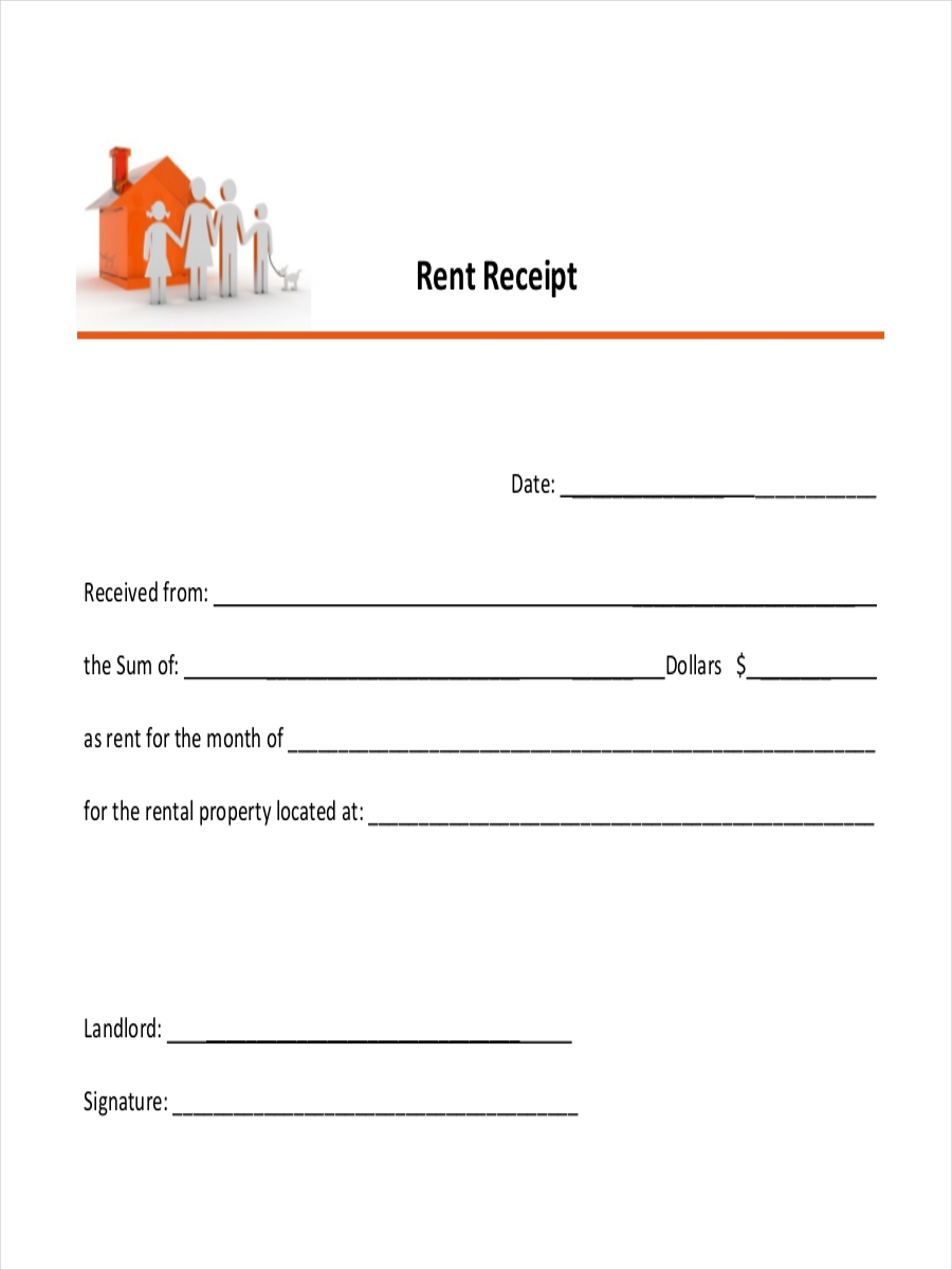 property rental receipt
