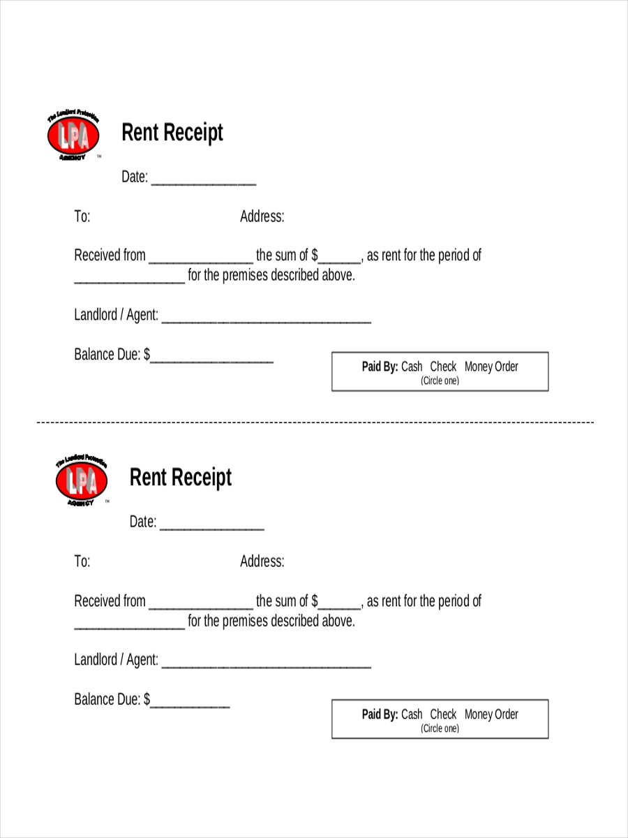 32 Examples of Sample Receipts