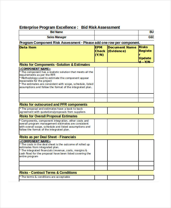 outsourcing risk assessment template - outsourcing risk assessment template choice image