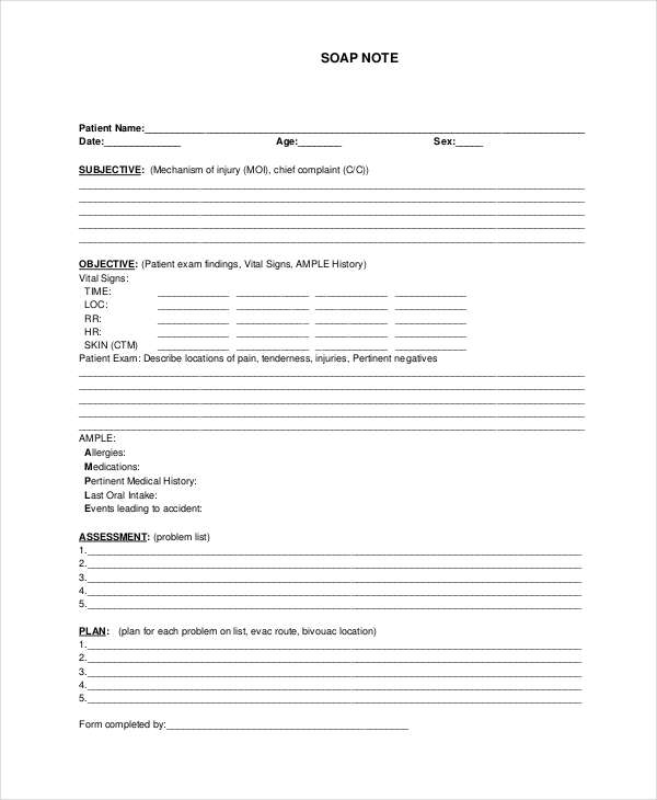 soap documentation template - history of present illness template best samples templates