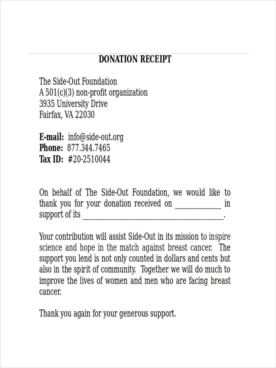 sample donation receipt3