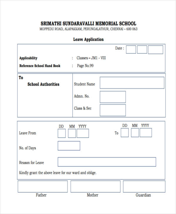 school application1