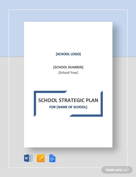 school strategic plan