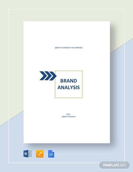 simple brand analysis