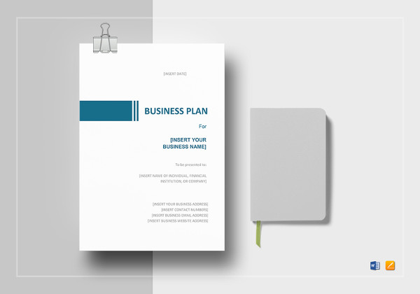 simple business plan word template