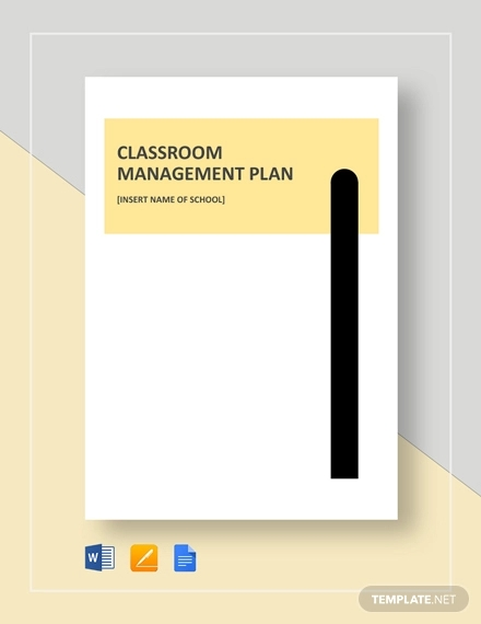 simple classroom management plan