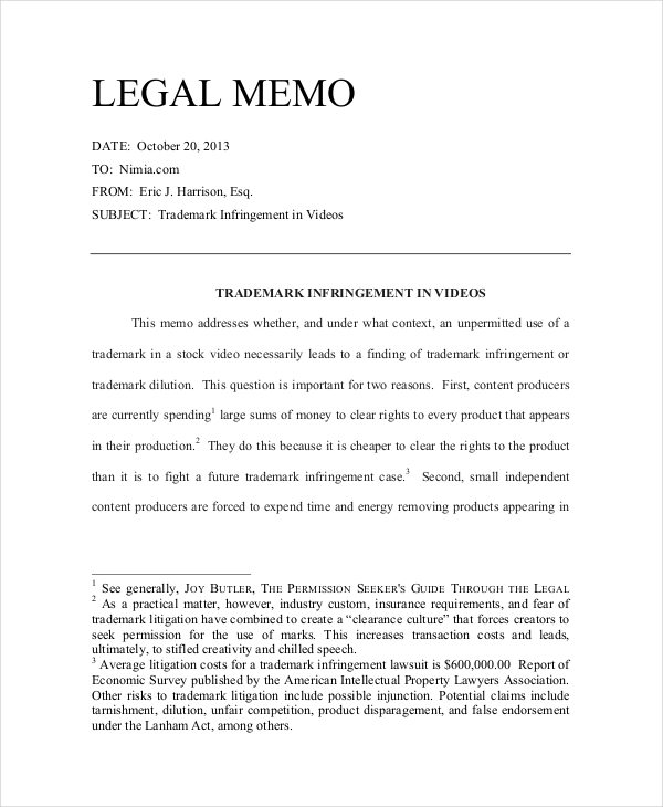 Example Of Memo Letter from images.examples.com