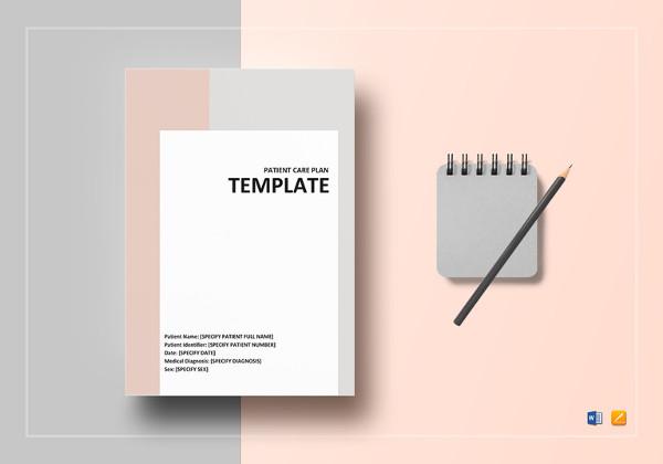 simple patient care plan template