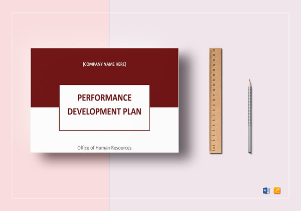 simple performance development plan template