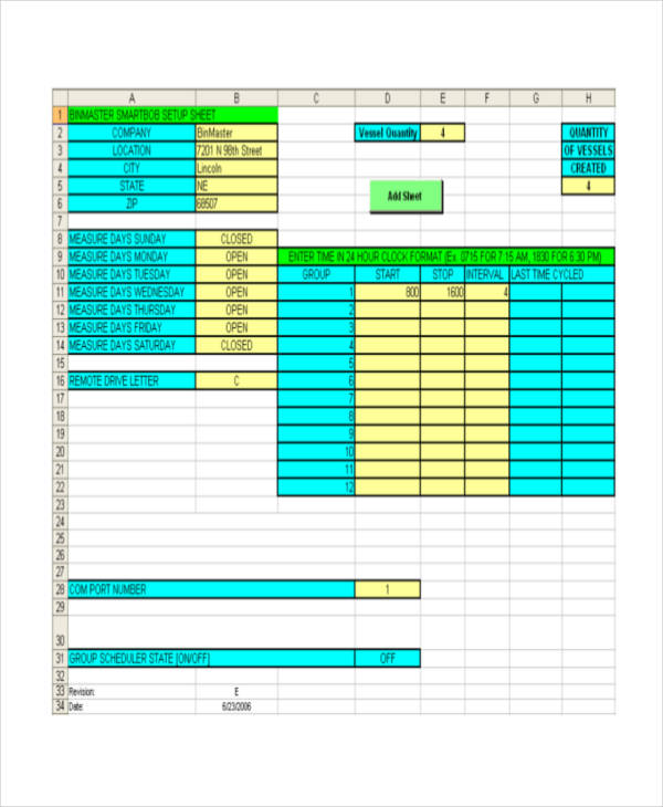simple process inventory
