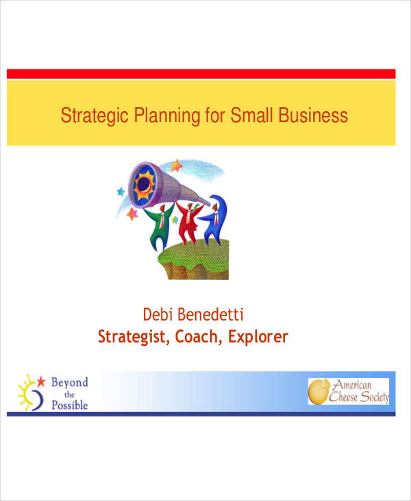 small strategic plan