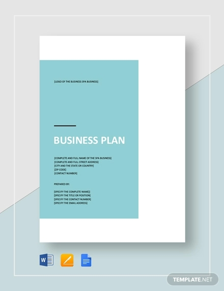 16+ Business Plan Examples in PDF | Examples