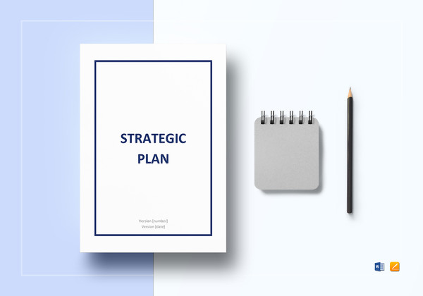 strategic plan word template
