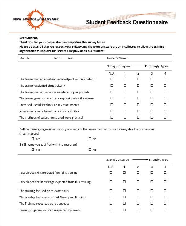 student feedback2