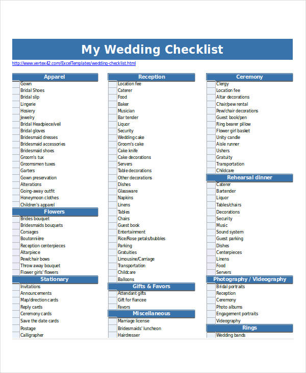 wedding checklist2
