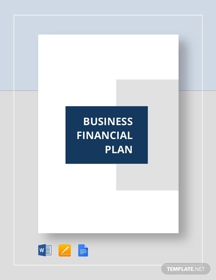 business financial plan