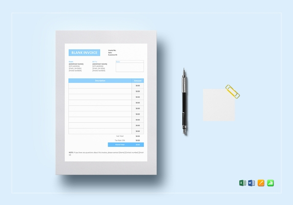 basic invoice template