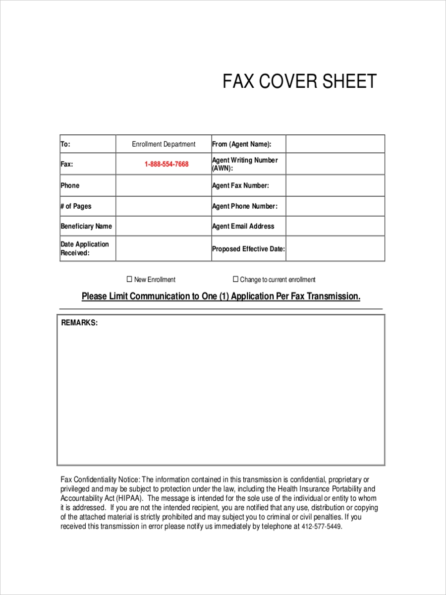 beneficiary fax cover sheet1
