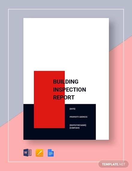 building inpspection report1