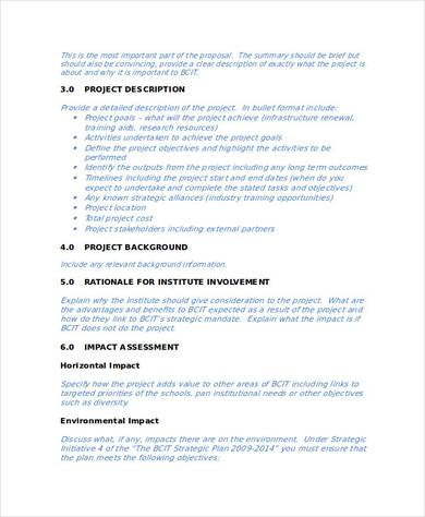 business research project proposal1