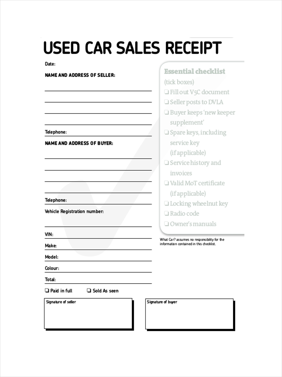 Free 12 Sales Receipt Examples Amp Samples In Google Docs