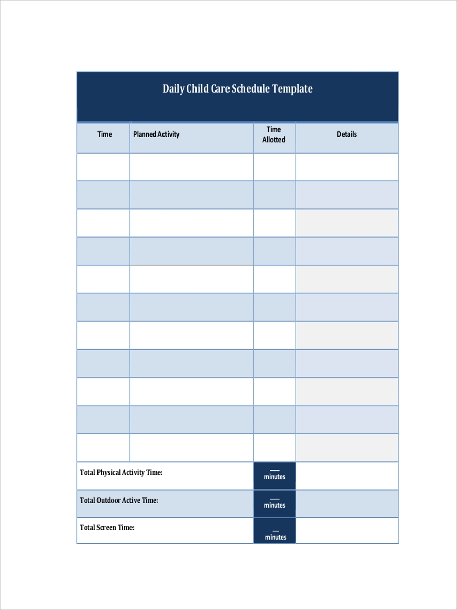 free 32  schedule examples in pdf