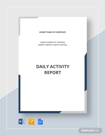 daily activity report1