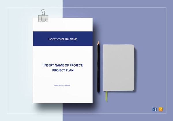 editable project plan template