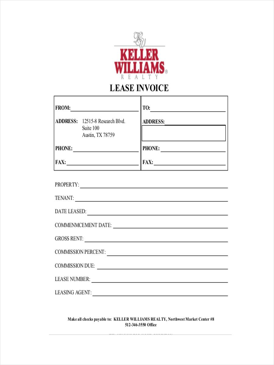 lease order receipt