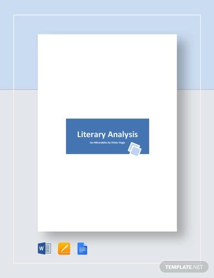 literary analysis example1
