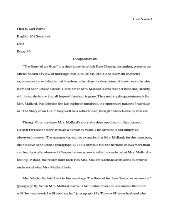 analysis essay examples samples  examples literary analysis