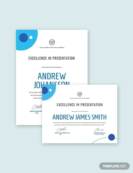 47+ Award Certificate Examples - Word, PSD, AI, EPS | Examples