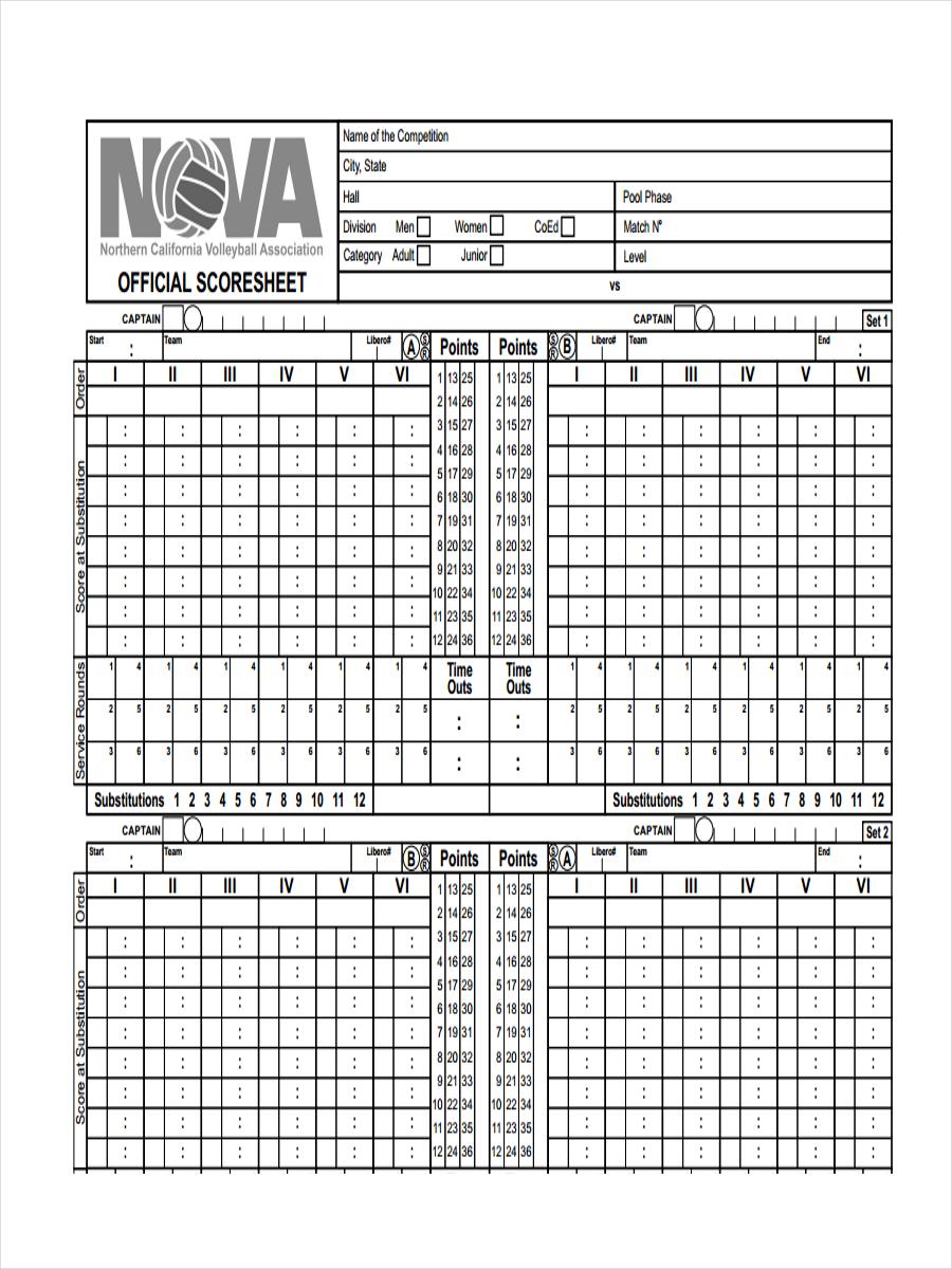 official score sheet1
