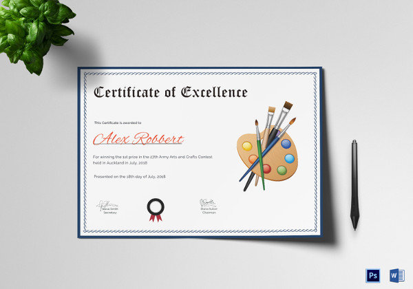 free 47  award certificate examples and samples in word