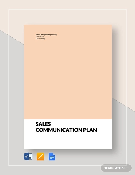 46+ Communication Plan Examples & Samples - PDF, Word | Examples