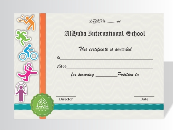 21+ Examples of Sports Certificates - PSD, Word, Pages ...