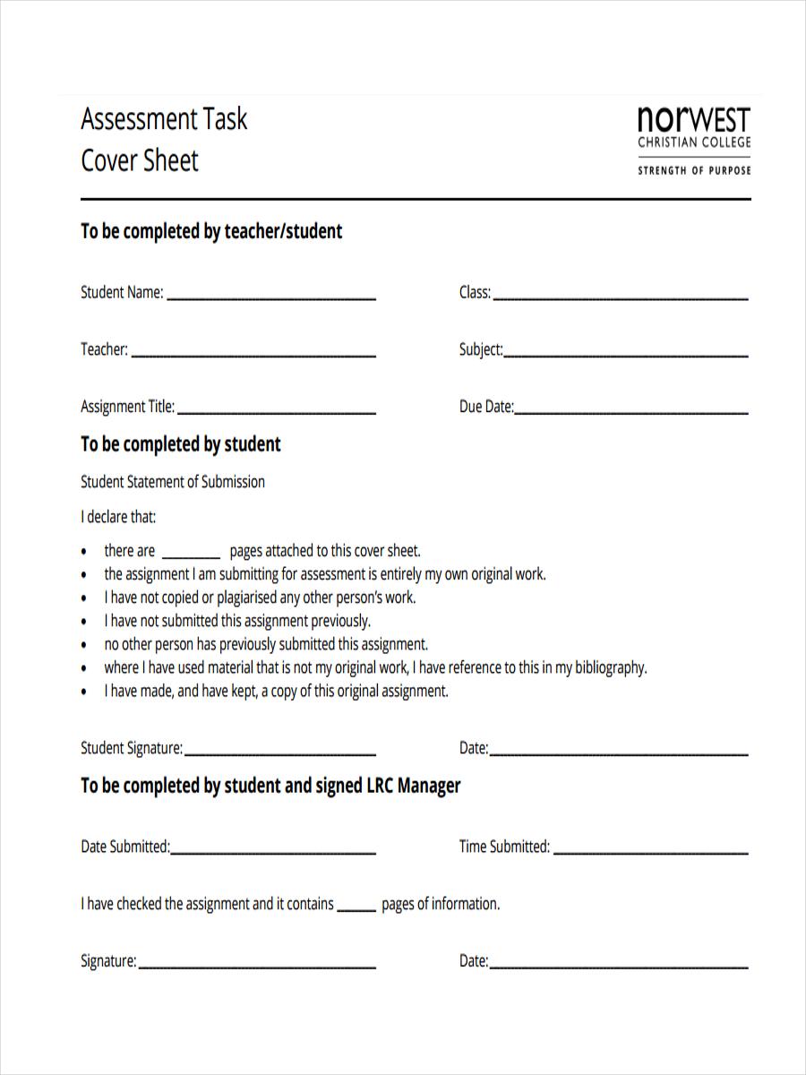 task cover sheet1