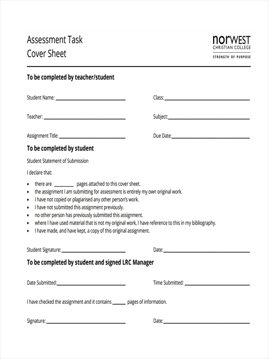 6 task sheet examples samples