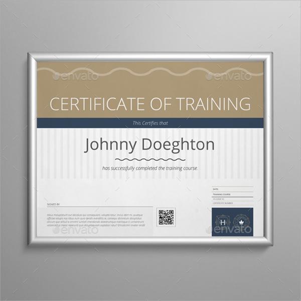 unique certificate