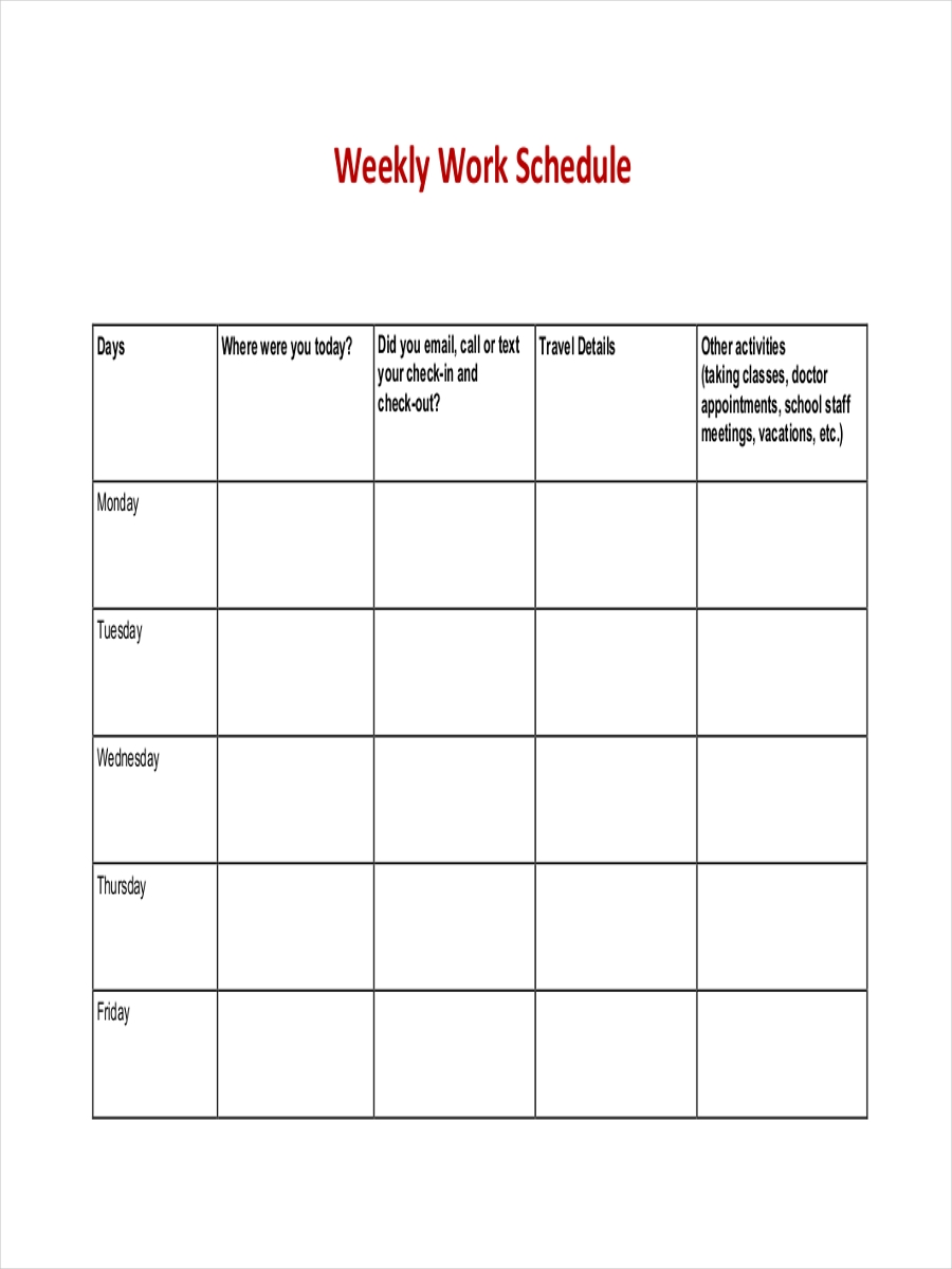 weekly work schedule1