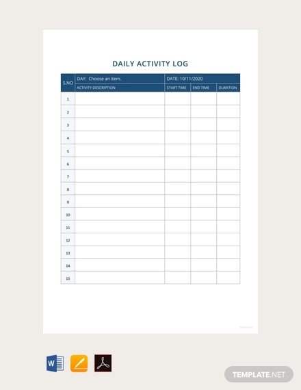 15+ Sample Activity Reports - PDF, Word, Pages, Google Doc